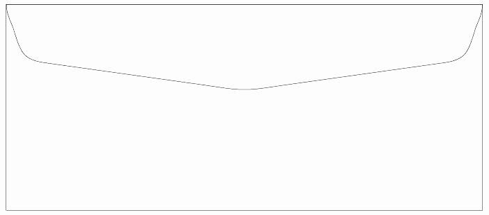 10 Envelope Template Illustrator Beautiful A 10 Envelope Template Open End Envelope Template Open End