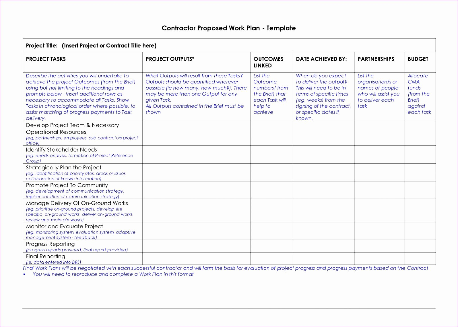 100 Day Plan Template Awesome 8 100 Day Plan Template Excel Exceltemplates