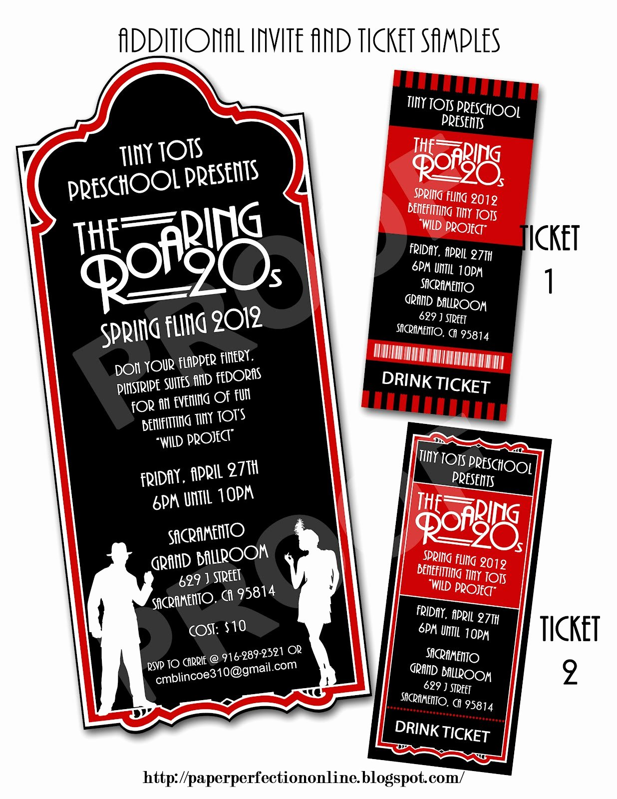 1920s Invitation Template Free Fresh Paper Perfection Roaring Twenties 1920s Party