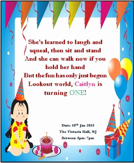 1st Birthday Card Template Best Of 10 Best Printable 1st Birthday Invitation Templates Images