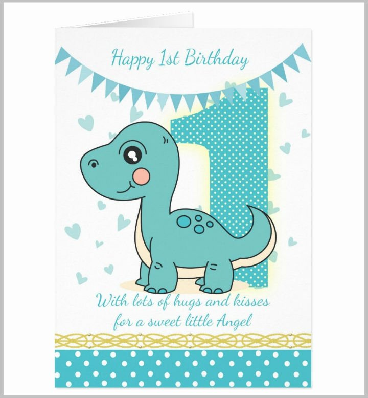1st Birthday Card Template Inspirational 14 First Wishes Card Designs & Templates Psd Ai