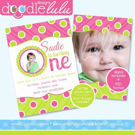 1st Birthday Card Template Inspirational 40th Birthday Ideas 1st Birthday Invitation Templates