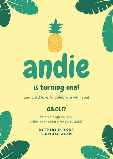 1st Birthday Card Template Lovely Customize 1 883 Birthday Invitation Templates Online Canva