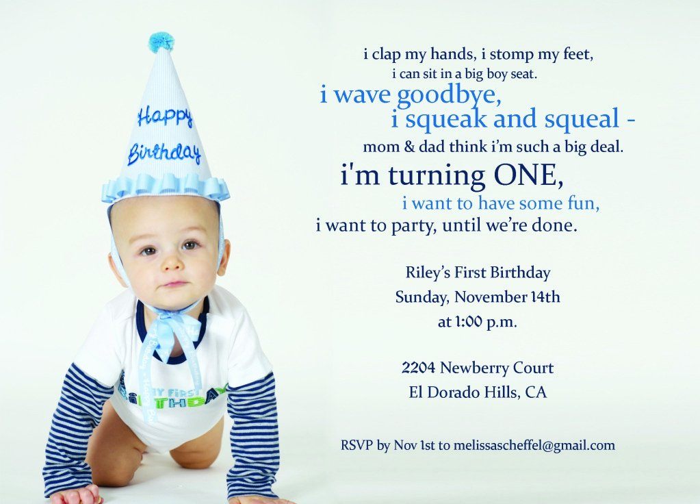 1st Birthday Invitation Template Elegant First Birthday Invitation Wording with Baptism and First