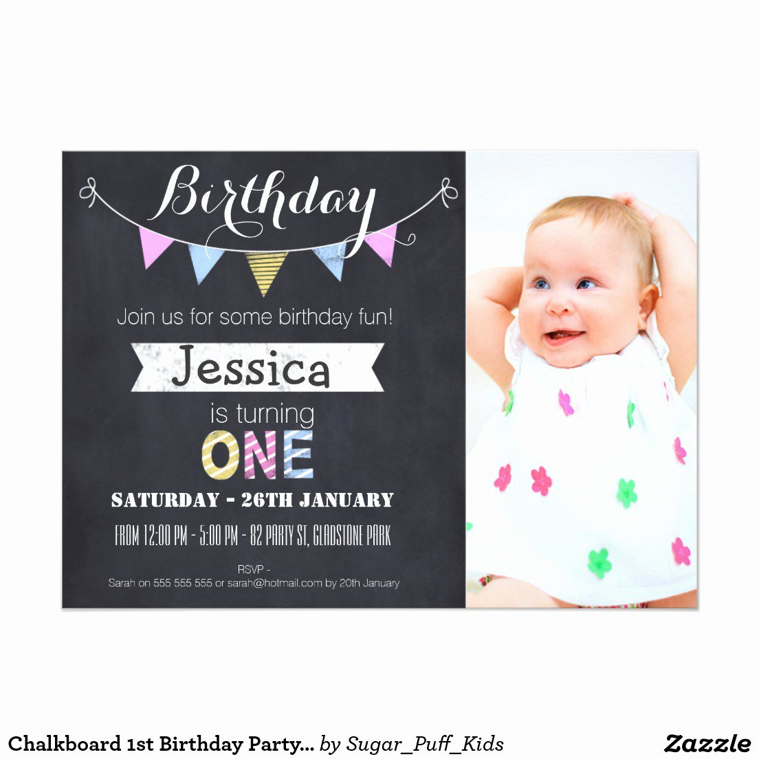 1st Birthday Invitation Template Lovely 1st Birthday Invitation Template Free Printable