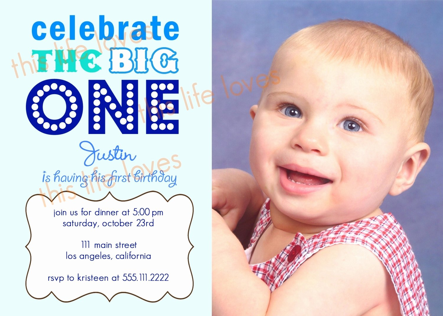1st Birthday Invitation Template New Invitation Letter for 1st Birthday Party