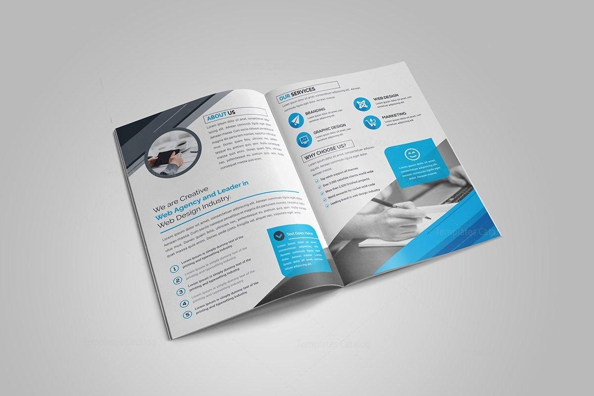 2 Fold Brochure Template Beautiful Ruby Bi Fold Brochure Template Template Catalog