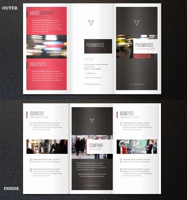 2 Fold Brochure Template Best Of 35 Best Free Brochure Templates Feedtip
