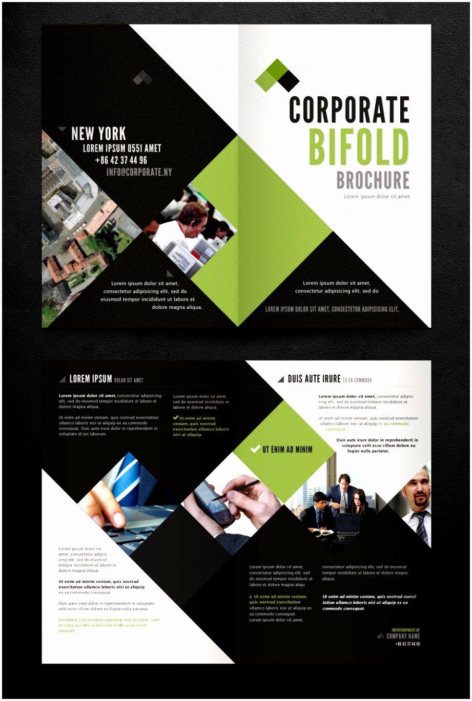 2 Fold Brochure Template Best Of 6 Two Fold Brochure Template Psd Oupai