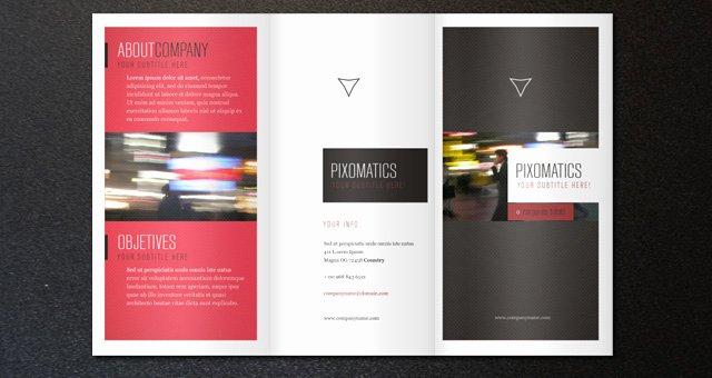 2 Fold Brochure Template Inspirational Corporate Tri Fold Brochure Template 2
