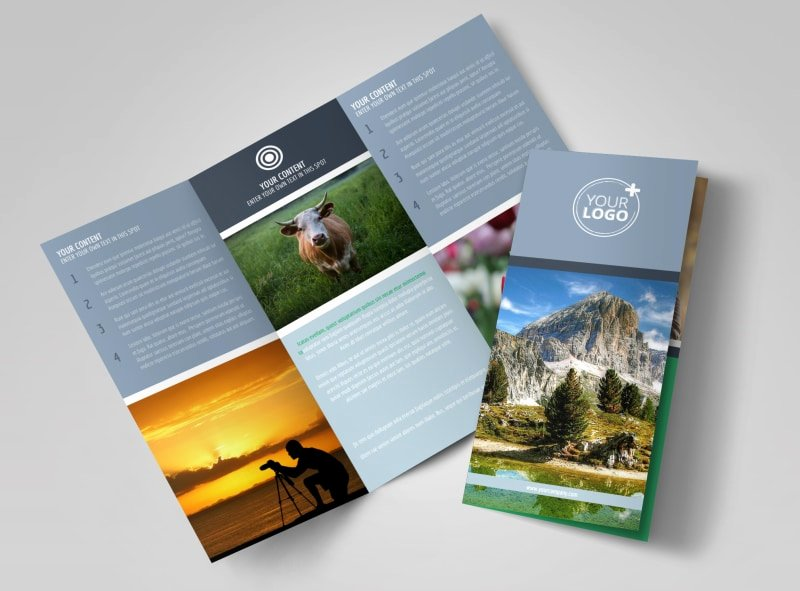 2 Fold Brochure Template Lovely General Graphy 2 Brochure Template