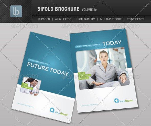 2 Fold Brochure Template Unique Two Fold Brochure Template Free Csoforumfo