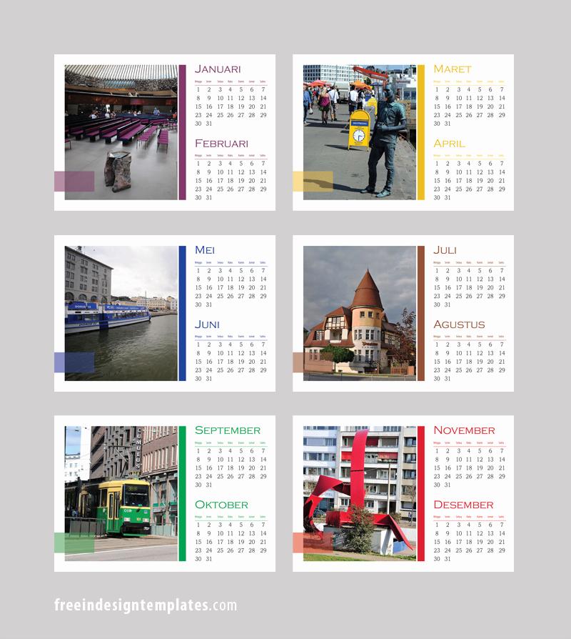 2016 Calendar Template Indesign Beautiful Free Indesign Desk Calendar Template Free Indesign