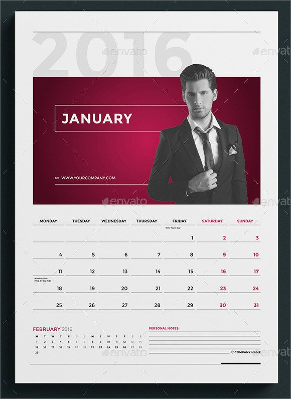 2016 Calendar Template Indesign Luxury Adobe Indesign 2016 Calendar Template