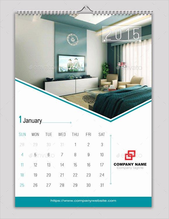 2016 Calendar Template Indesign Unique 9 Indesign Calendars