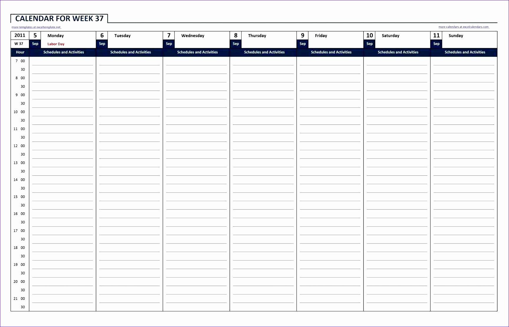 24 Hr Schedule Template Fresh 10 24 Hour Work Schedule Template Excel Exceltemplates