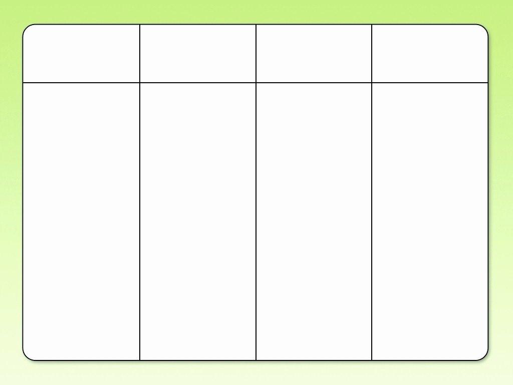 3 Column Chart Template Best Of Empty 3 Column Chart