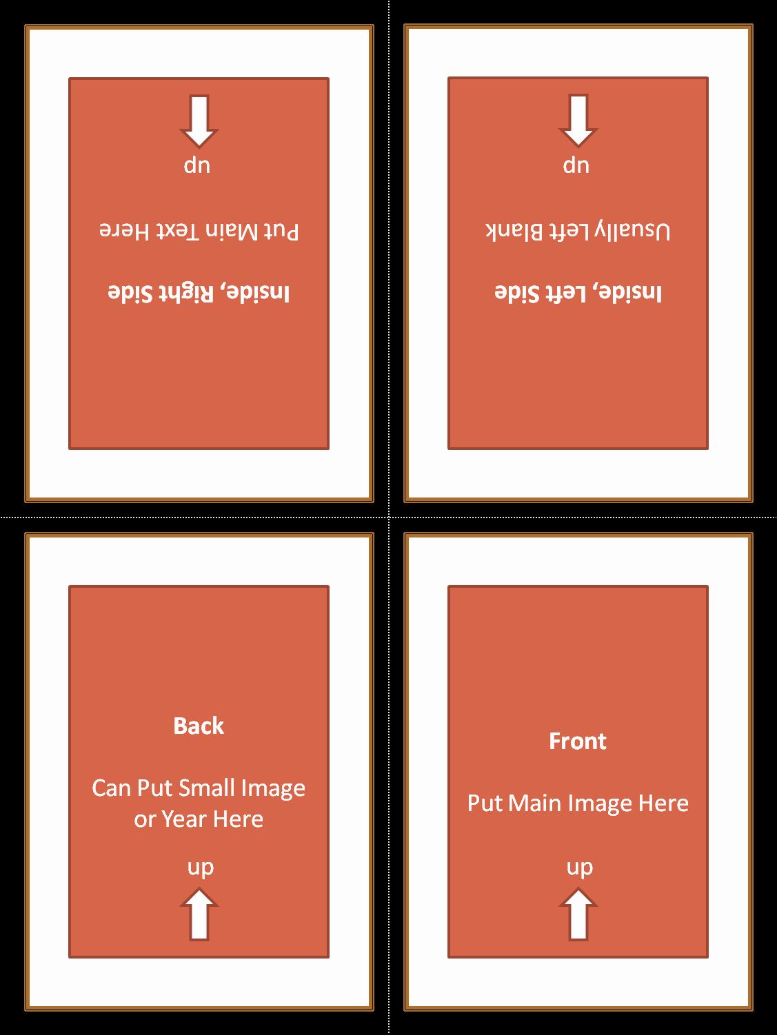 4 Fold Card Template Elegant Four Fold Card Free Download Freemium Templates