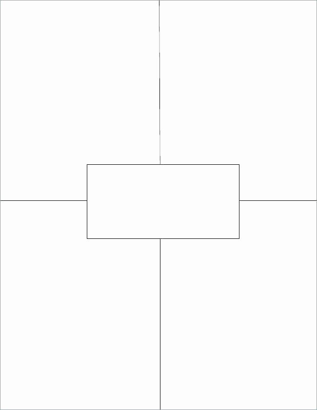 4 Square Writing Template Awesome Four Square Template – Lesquare