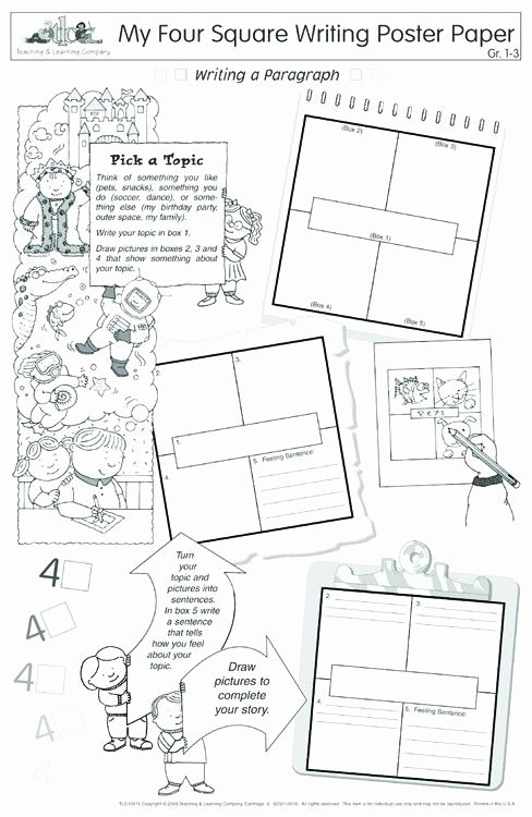 4 Square Writing Template Beautiful 1000 Ideas About Four Square Writing On Pinterest
