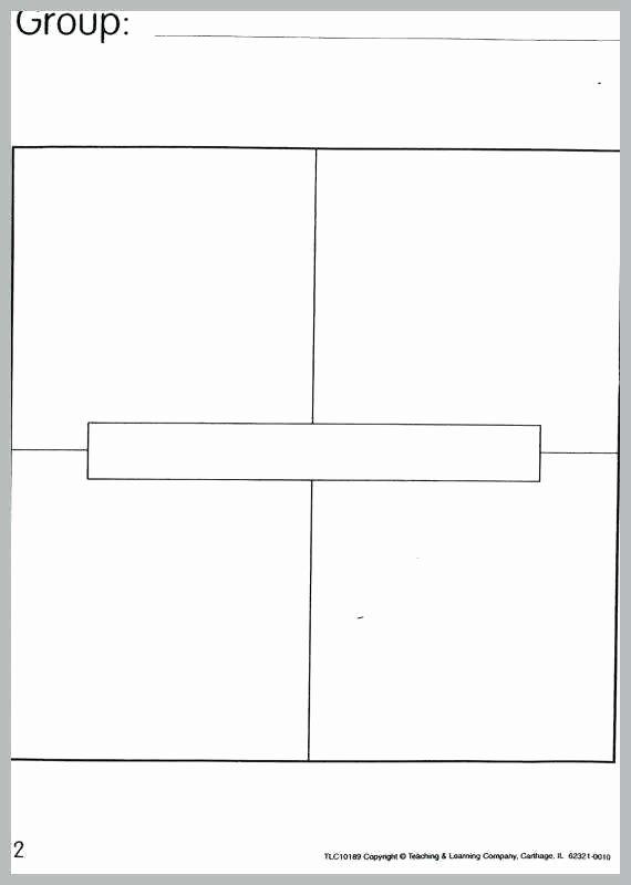 4 Square Writing Template Inspirational Blank Four Square Writing Template Word format Wordpress