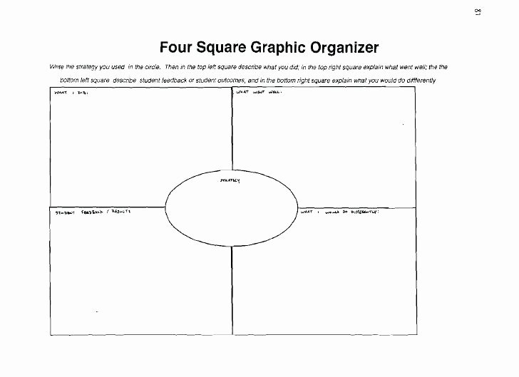 4 Square Writing Template Lovely Four Square Writing Worksheets – Albertcoward