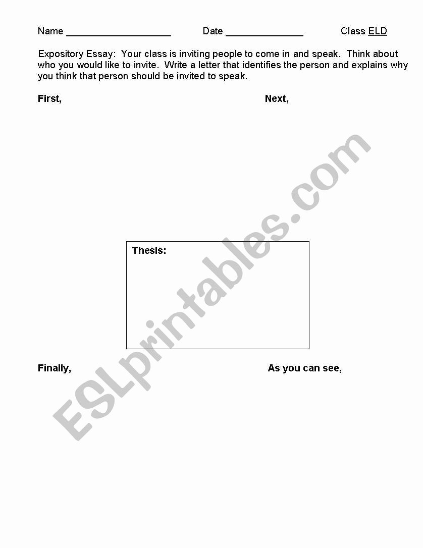 4 Square Writing Template New English Worksheets Four Square Template Graphic organizer