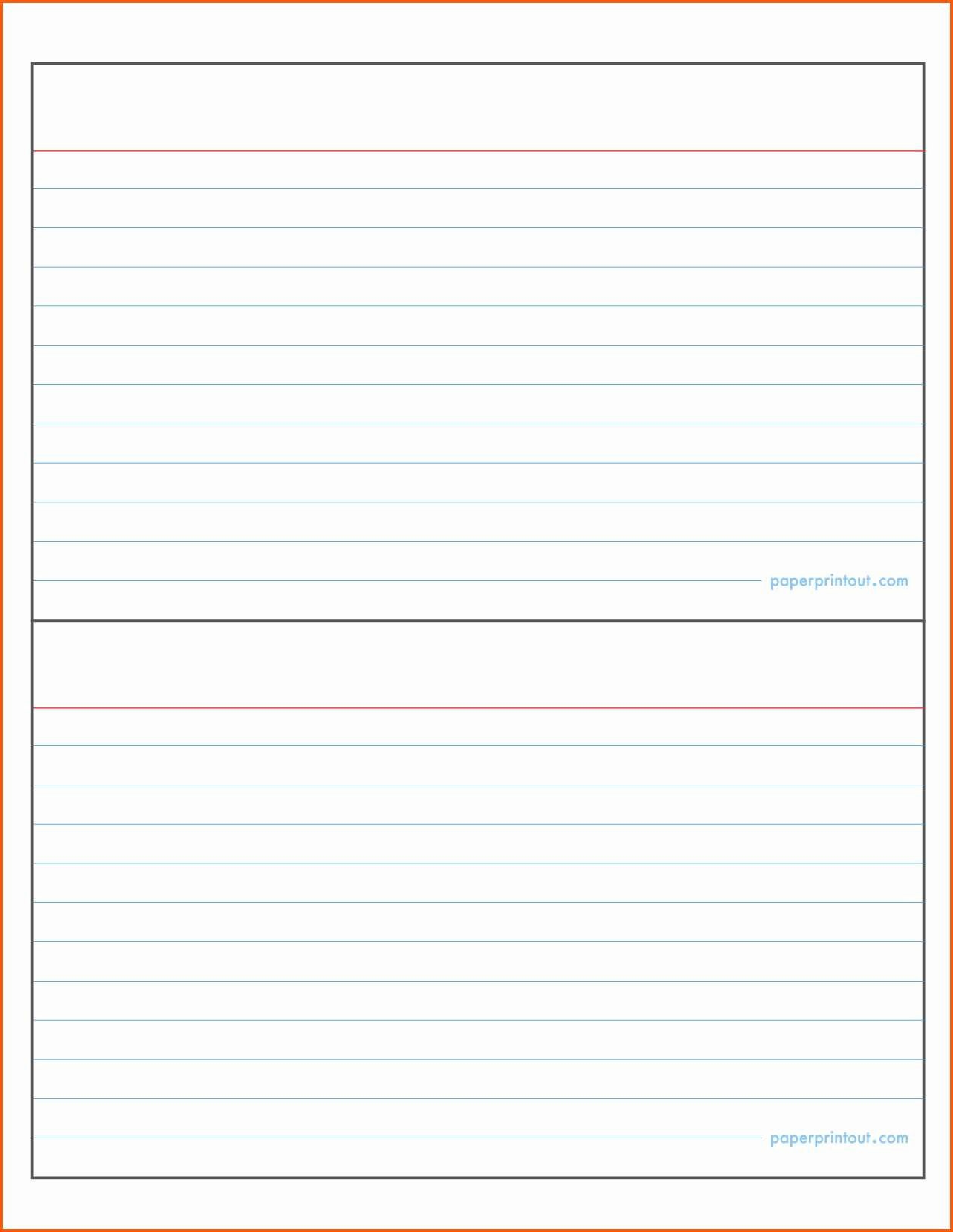 4x6 Card Template Word Unique New 3x5 Index Card Template Google Docs