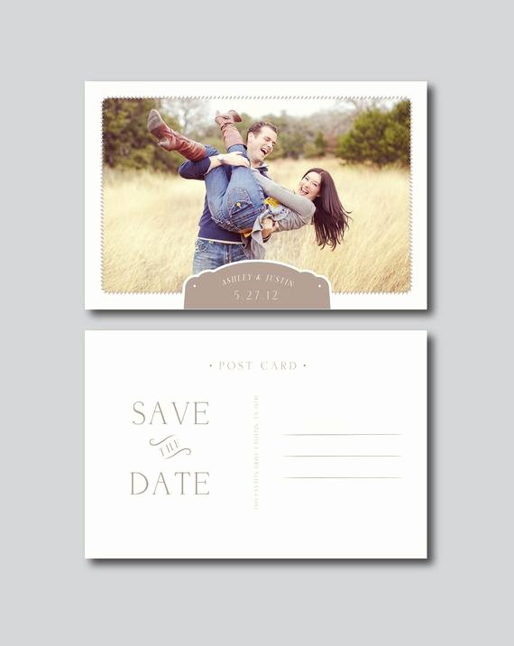 4x6 Postcard Template Photoshop Awesome Save the Date Postcard Graphy Template by