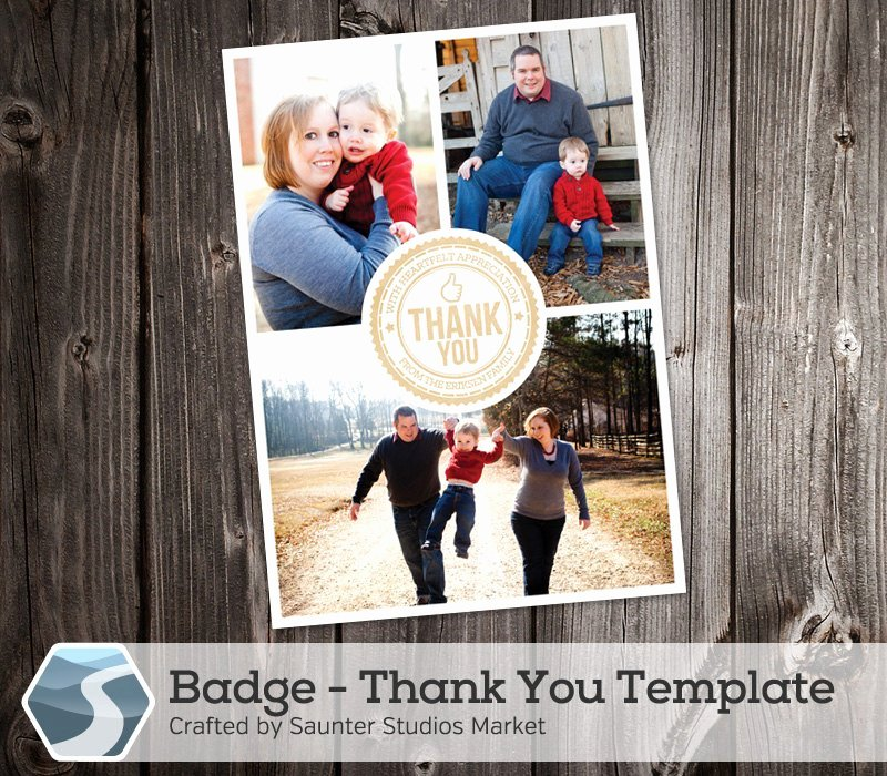 4x6 Postcard Template Photoshop Fresh Thank You Card Template Badge 5x7 and 4x6 Shop
