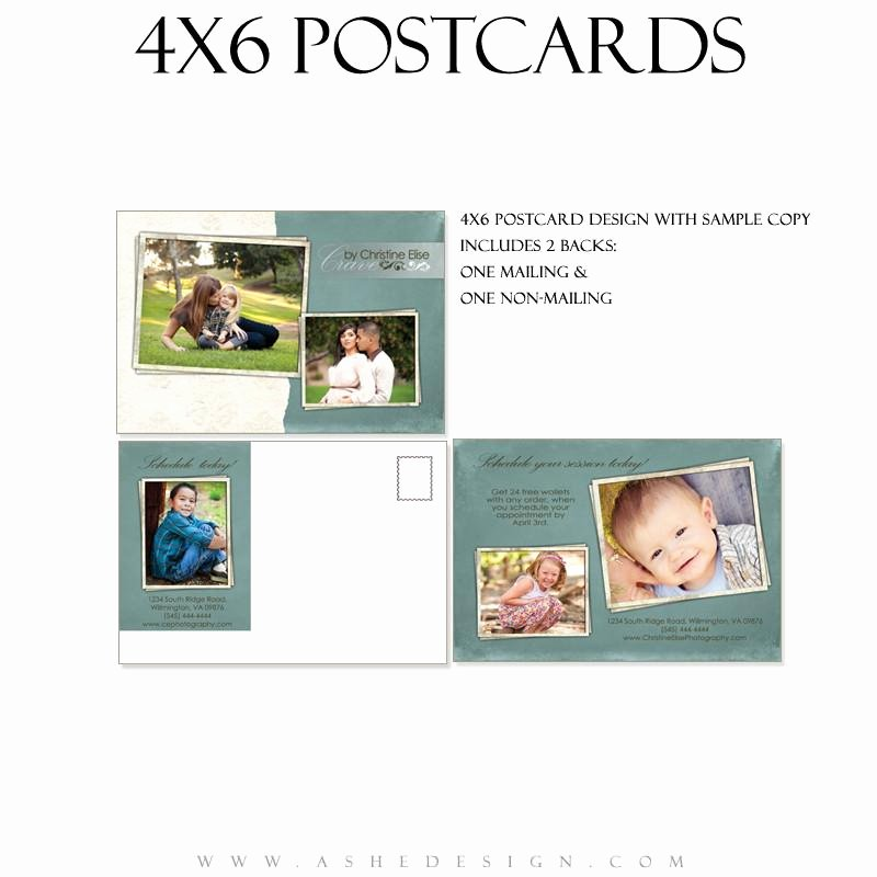 4x6 Postcard Template Photoshop Inspirational ashe Design