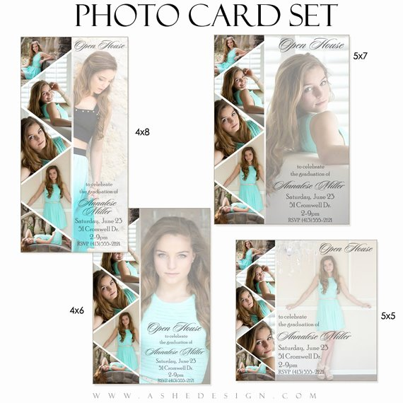 4x6 Postcard Template Photoshop Lovely Shop Templates Graduation Invitation Cards