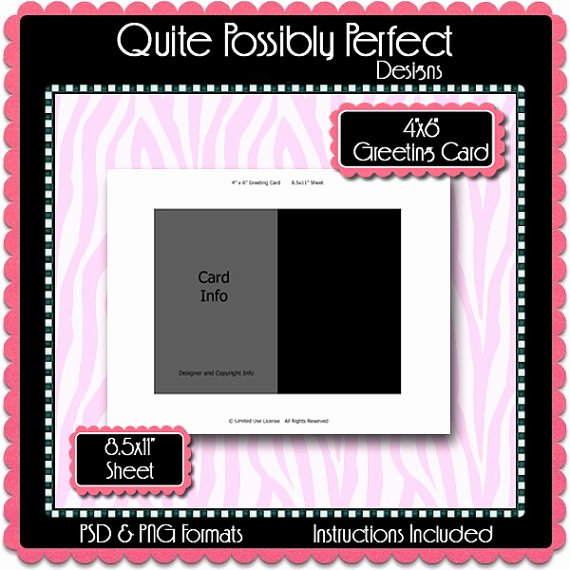 4x6 Postcard Template Photoshop New Postcard Template Category Page 2 Efoza