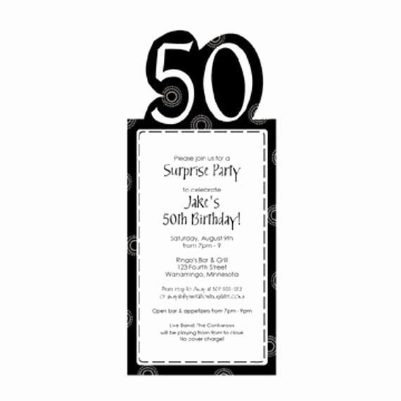 50th Anniversary Invitation Template Lovely 50th Birthday Party Invitation Template by Loveandpartypaper