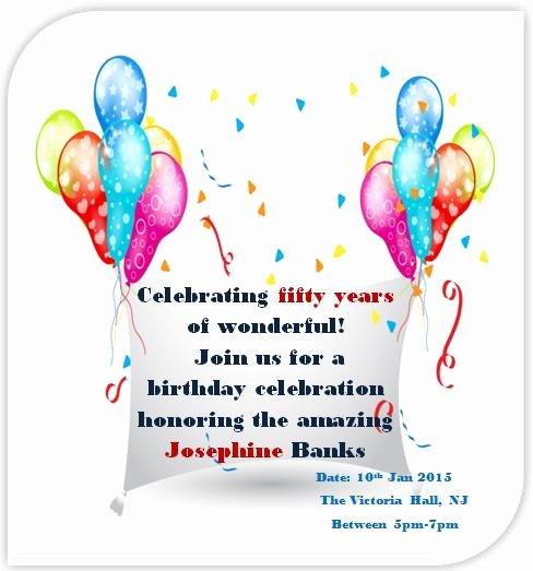 50th Anniversary Invitation Template New 50th Birthday Invitation Templates Free Printable Demplates