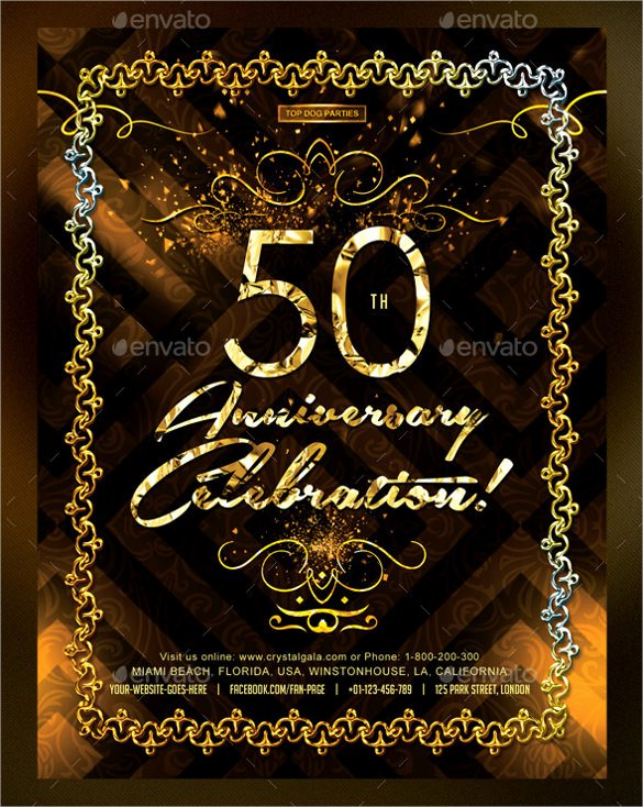 50th Birthday Invitation Template Best Of 45 50th Birthday Invitation Templates – Free Sample