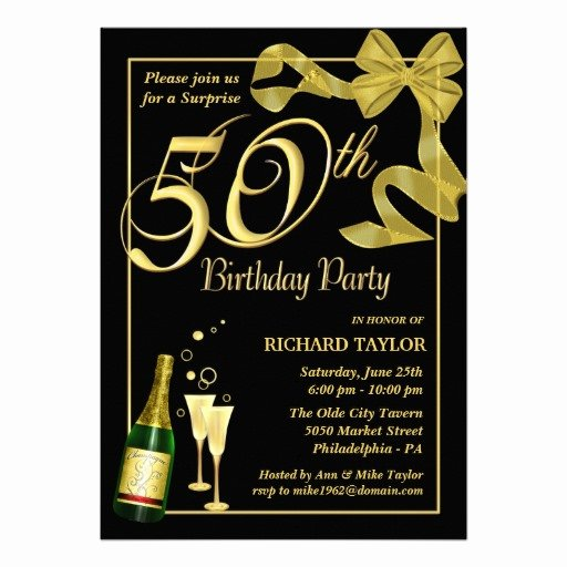 50th Birthday Invitation Template Best Of 50th Birthday Invitations Ideas – Free Printable Birthday