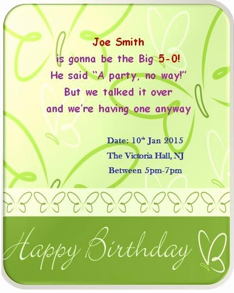 50th Birthday Invitation Template Fresh 50th Birthday Invitation Templates Free Printable Demplates