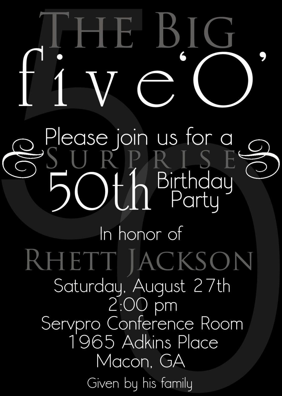 50th Birthday Invitation Template Lovely Nice the 50th Birthday Invitation Template Free Templates