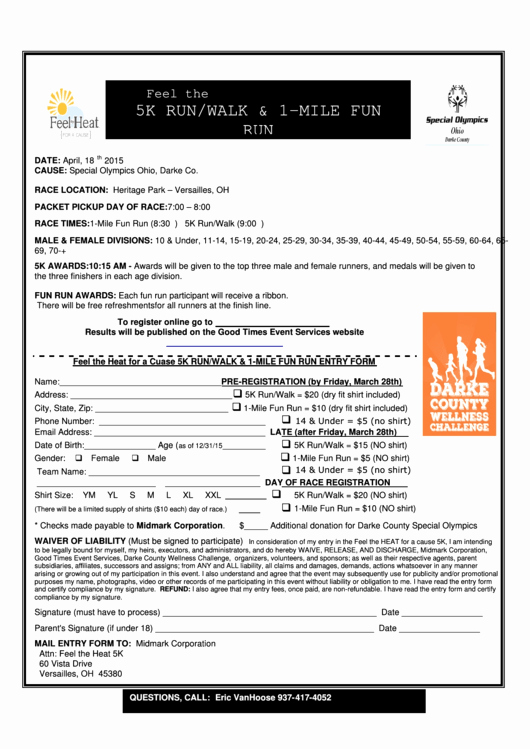 5k Registration form Template Best Of top 22 5k Registration form Templates Free to In