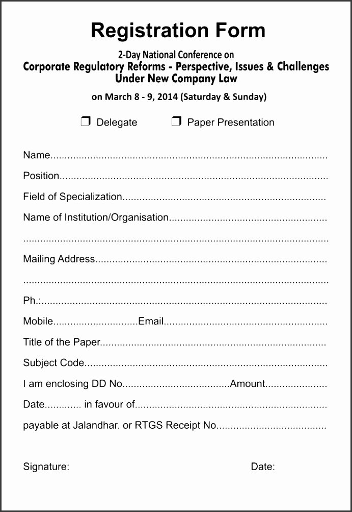 5k Registration form Template Unique 6 5k Registration form Template Sampletemplatess