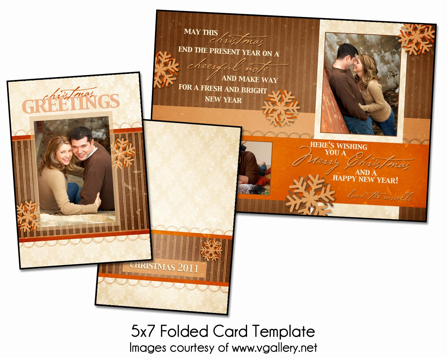 5x7 Postcard Mailing Template Luxury Christmas Card Template Christmas Greetings Folded 5x7