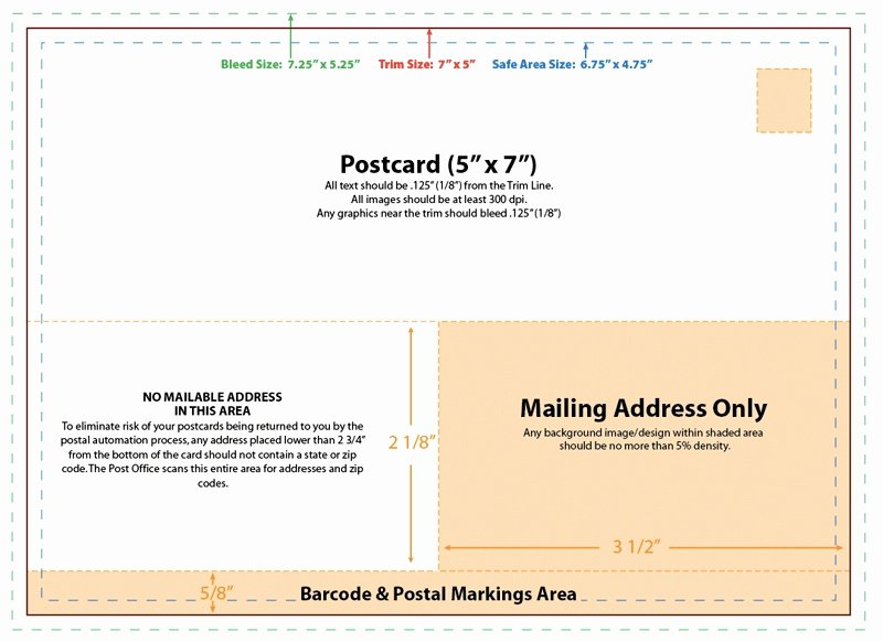5x7 Postcard Mailing Template New 5×7 Postcard Templates – Emmamcintyrephotography