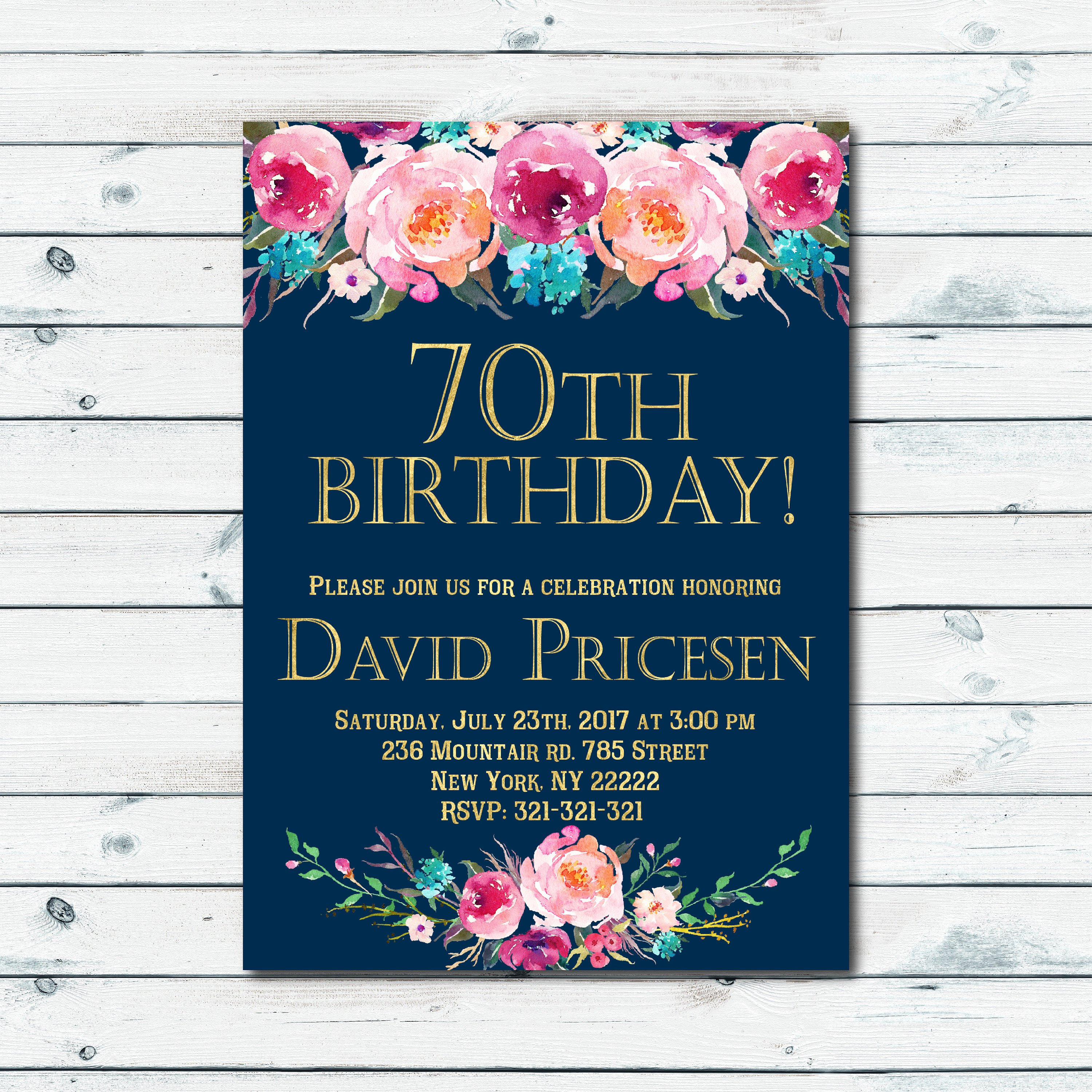 60th Birthday Invitation Template Best Of Surprise 60th Birthday Party Invitations Template Queen