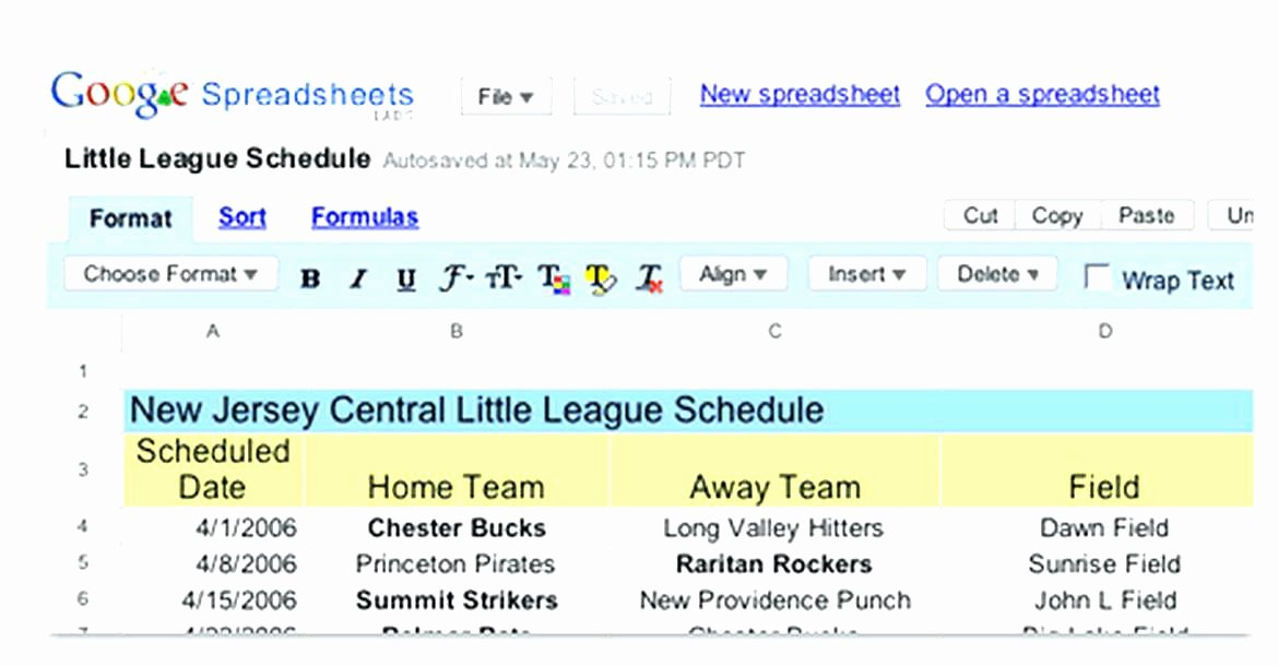 8 Team Schedule Template Inspirational Sports Schedule Template Free Word Documents Download