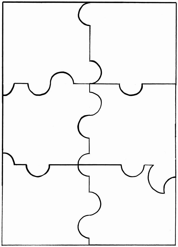 9 Piece Puzzle Template Inspirational Best 25 Puzzle Piece Template Ideas On Pinterest