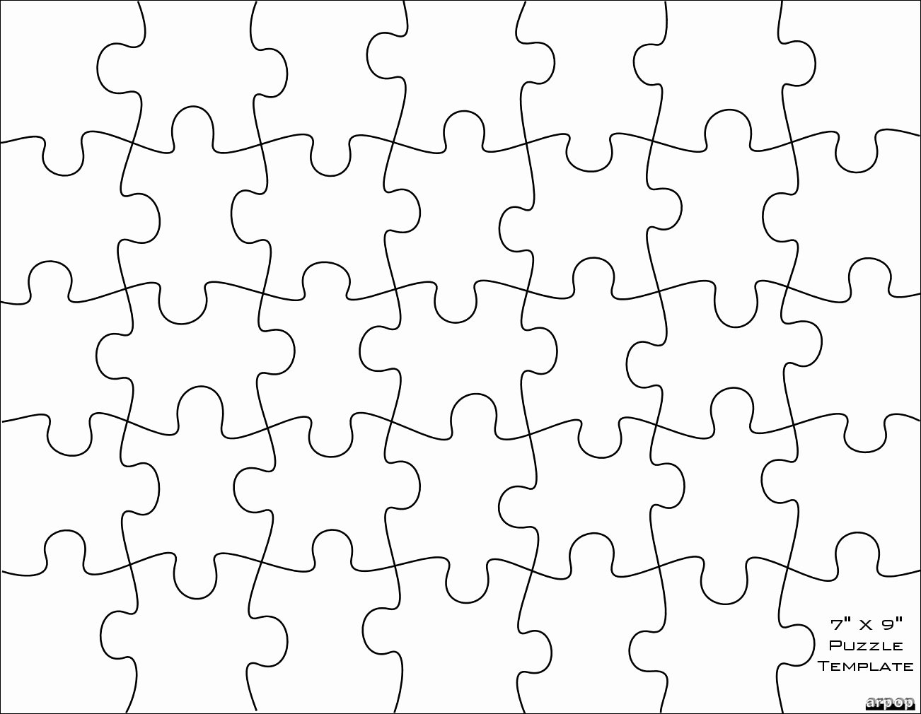9 Piece Puzzle Template Luxury Question Plaster Puzzle Pieces [answered ]
