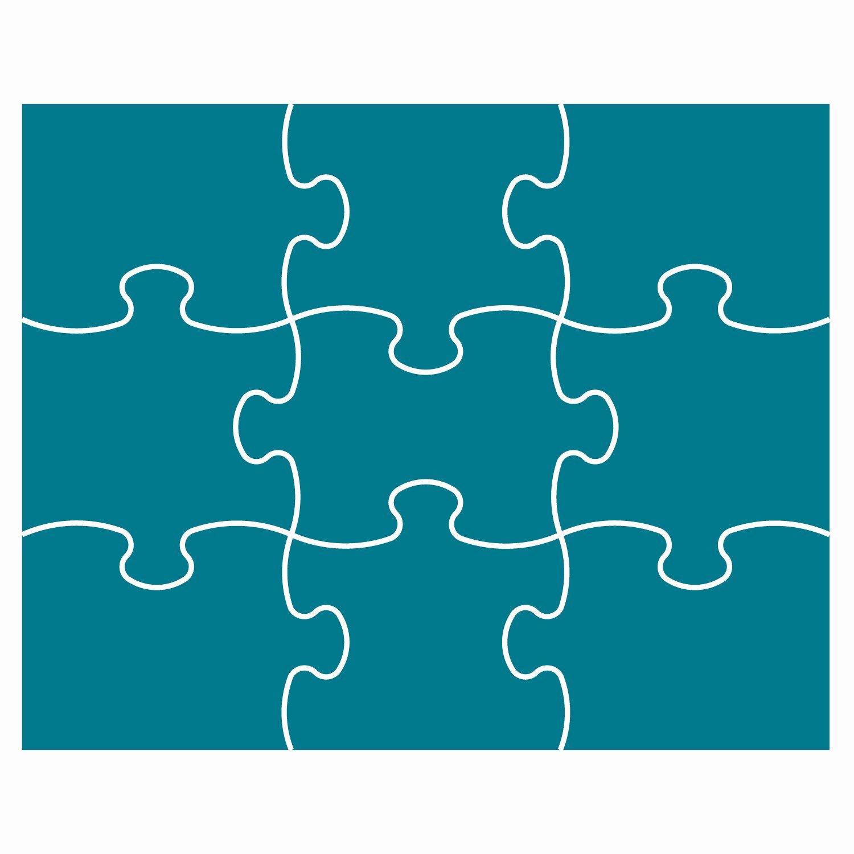 9 Piece Puzzle Template Unique Best S Of Nine Piece Puzzle Template 9 Piece Puzzle