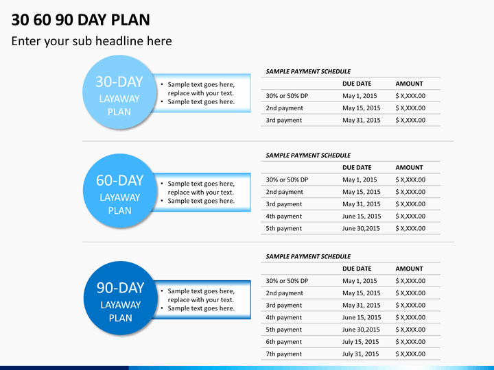 90 Day Plan Template New 30 60 90 Day Plan Template