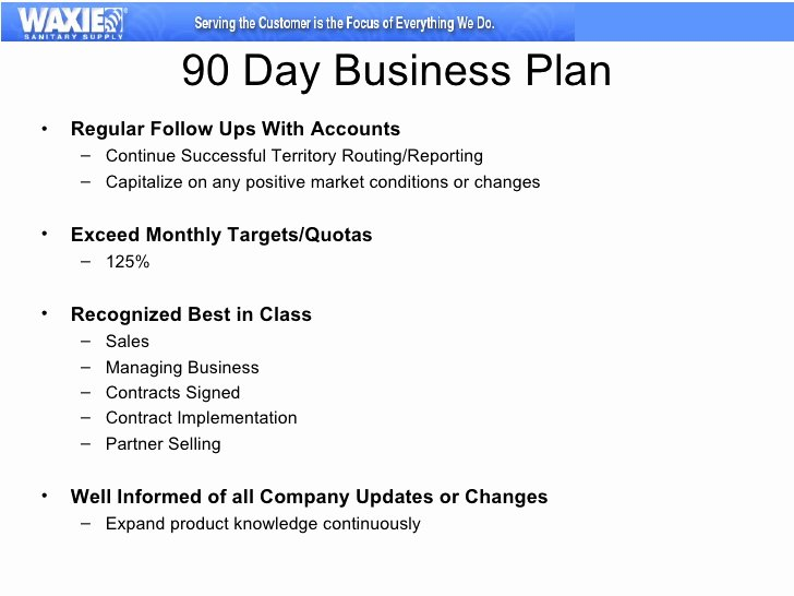90 Day Review Template Awesome 30 60 90 Business Plan